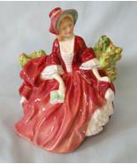 "Royal Doulton Pretty Ladies Figurine HN1908 Lydia 4 3/4"" - $35.53"