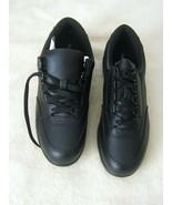 NEW NIB Women's Hush Puppies Leather Classic Walkers Size 10 W Black H57606 - $59.99