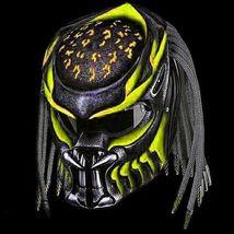 Predator Motorcycle Helmet Yellow Sky (Dot / Ece Certified) - $355.00