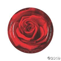 Rose Paper Dinner Plates - $6.62