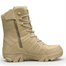 Army Boots top Desert Men High Men's Boots Military Outdoor Shoes Hiking Combat qP16v6