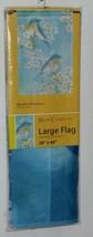New Creative 25379 Impressions Bluebird Blossoms Indoor Outdoor Garden Flag image 1