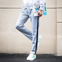 Men's Season Sweatpants Male Cotton Casual Pants Menswear Thickening Warm Pants - $30.60