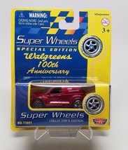 2001 Motor Max Super Wheels Red PT Cruiser Walgreens NIP  - $7.37