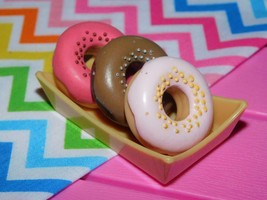 Our Generation Sweet Stop Ice Cream Truck Accessories Lot of 3 Doughnuts A - $8.90