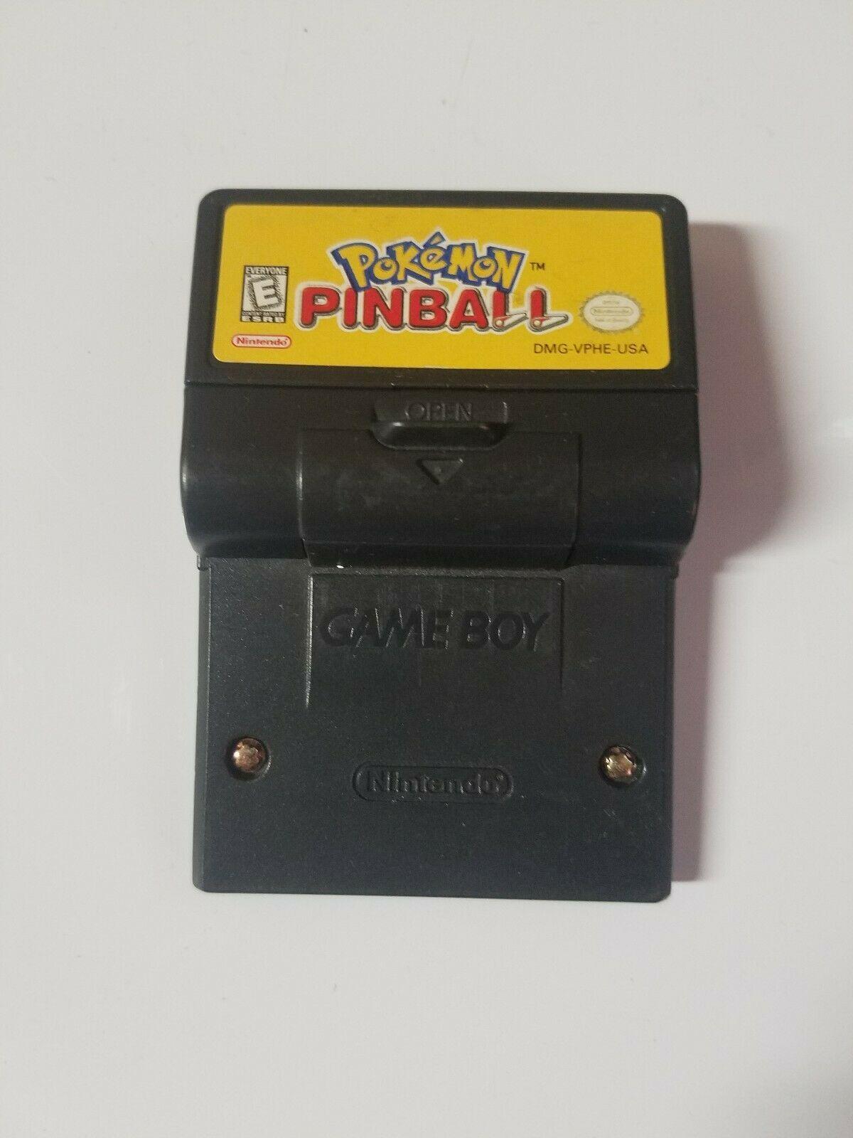 Pokemon Pinball (Nintendo Game Boy Color, 1999)