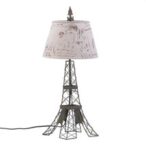 Contemporary Desk Lamp, Modern Eiffel Tower Night Table Lamps For Living... - $66.98