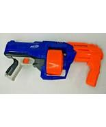NERF Surgefire Elite Air Gun w/ Soft Darts Blue Orange - $31.45