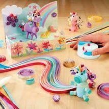 New Alex D.I.Y. Paper Swirls Unicorn Fantasy Roll Shape Create w/ Quilling Tool image 3