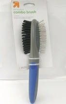 All Coats Dual Purpose coat Brush For Dogs blue & grey up & up target