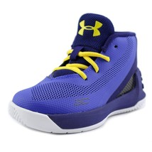 Under Armour Toddlers Curry 3 Shoe Blue/Txi 1276276-400 - $53.88