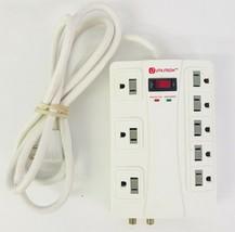 UtilitechPower Strip Surge Protector RJ11 Computer 8 Outlet Model UTPB4120 - $30.68