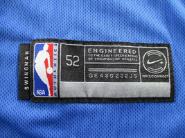 LUKA DONCIC / AUTOGRAPHED DALLAS MAVERICKS PRO STYLE BASKETBALL JERSEY / COA image 8