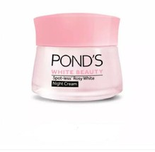 50 g. Ponds Flawless White Face Whitening Cream Visible Lightening Day, ... - $18.99+