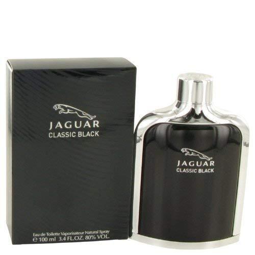 Jaguar Classic Black by Jaguar Men's Eau De Toilette Spray 3.4 oz - 100% Authent
