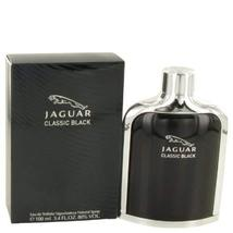 Jaguar Classic Black by Jaguar Men's Eau De Toilette Spray 3.4 oz - 100%... - $25.57