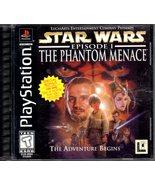 Playstation - Star Wars - Episode I The Phantom Menace  - $10.90