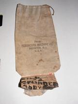 Ferracute Machine Company Cloth Bag  #31 - $125.00