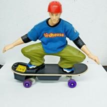 Mattel 2001 Tyco Tony Hawk Birdhouse RC Skateboard No Battery Untested - $19.79