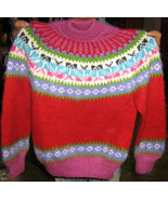 Soft Crew neck sweater for kids, made of Alpaca wool - $65.00