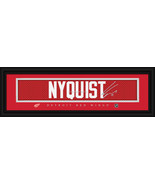 Gustav Nyquist Detroit Red Wings Player Signature Stitched Jersey Framed... - $39.95