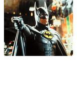 Batman Gun Michael Keaton Vintage 8X10 Color Movie Memorabilia Photo - $6.99
