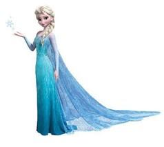 Girls Bedroom Elsa Frozen Giant Wall Decal Disn... - $29.00