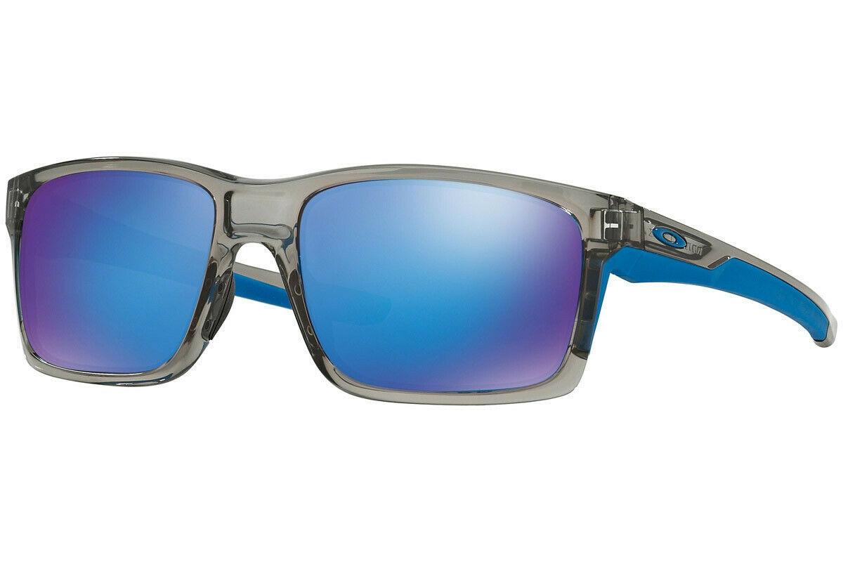 Oakley Sunglasses Mainlink Grey Ink w/Sapphire Iridium OO9264-03 57 - $116.76