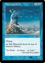 Magic The Gathering MTG Exodus Wayward Soul Michael Kaluta - 1998 - $1.50