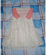 NWT Papaya Sweetheart Colorblock Lace Dress S - $12.35