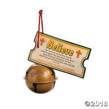 Religious Believe Bell Ornaments with Cards - $21.24