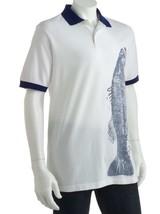 $50 NEW Chaps Ralph Lauren Rugby Polo Shirt-Nautical-Fish-Bass Tournamen... - $19.97