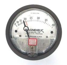 DWYER 12-166981-00 MAGNEHELIC PRESSURE GAUGE 15 PSIG MAX, 0-140, 1216698100 image 2