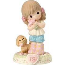 Precious Moments 162011B  Growing In Grace, Age 12, Bisque Porcelain Fig... - $54.88
