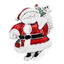 Smiling Santa Claus with Outfit Full Gifts Bag - $14.69