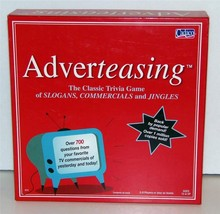 ADVERTEASING  The Game of Slogans, Commercials, and Jingles Cadaco 2005 - $27.12