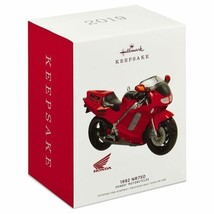 Hallmark Honda Motorcycles 1992 NR750 Metal Ornament Dated 2019 - $18.61