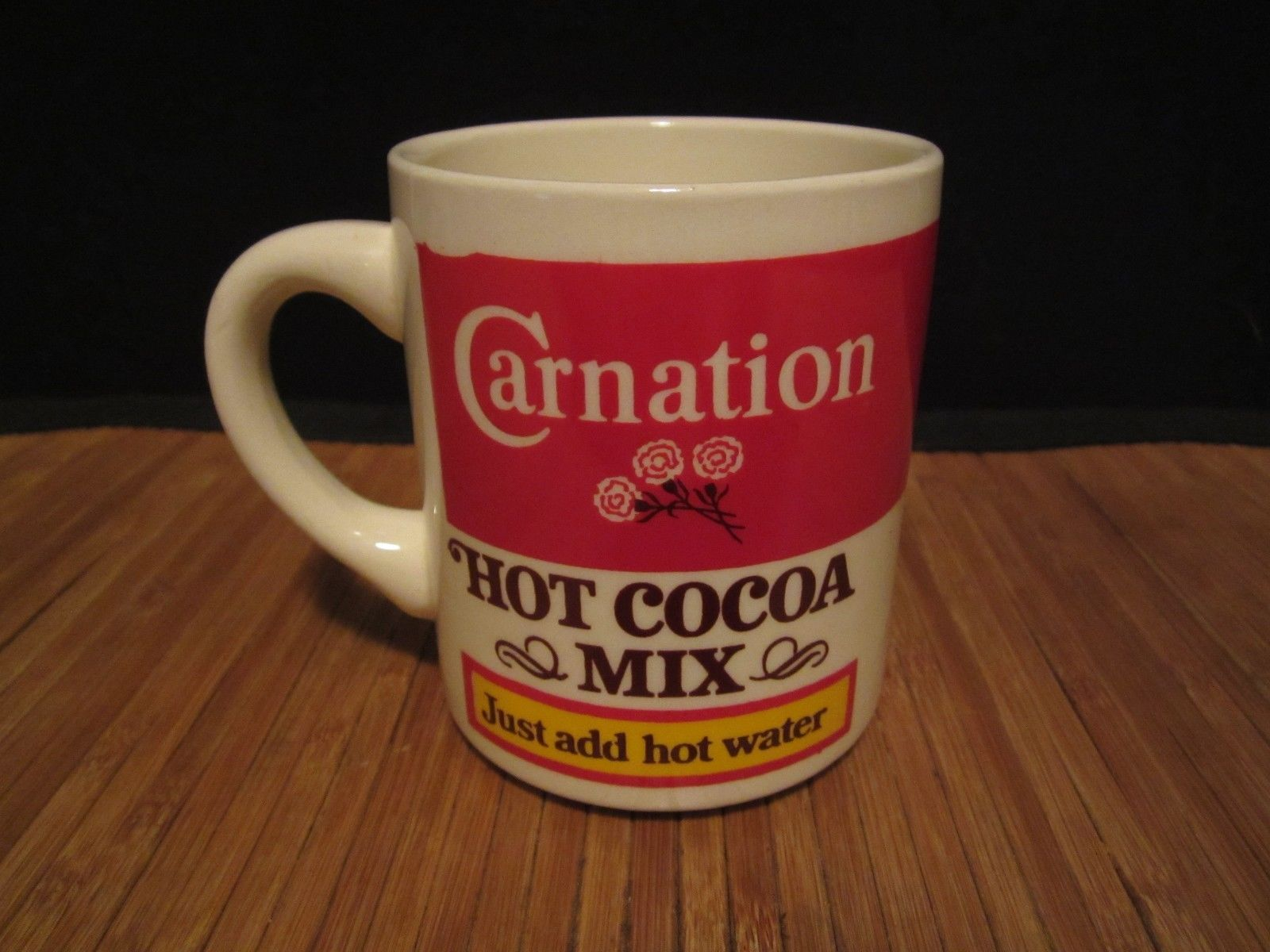 Vintage Carnation Hot Cocoa Mix Coffee Mug And 11 Similar Items