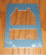 House blue pindot double mat opening 5x7 framin... - $1.25