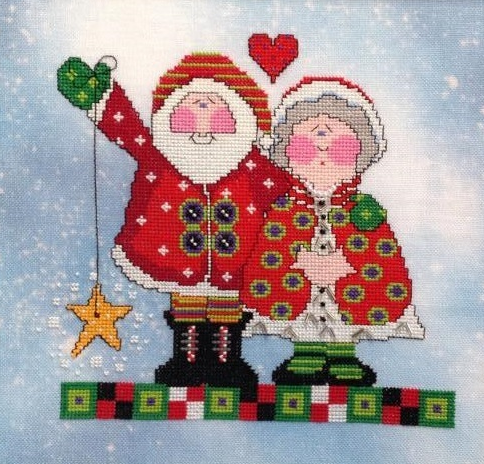 Christmas Magic cross stitch chart Amy Bruecken Designs