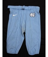 UNC TARHEEL GAME USED FOOTBALL PANTS BLUE Siz... - $29.00