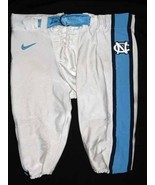 UNC TARHEEL GAME USED FOOTBALL PANTS WHITE Size 46 - $32.00