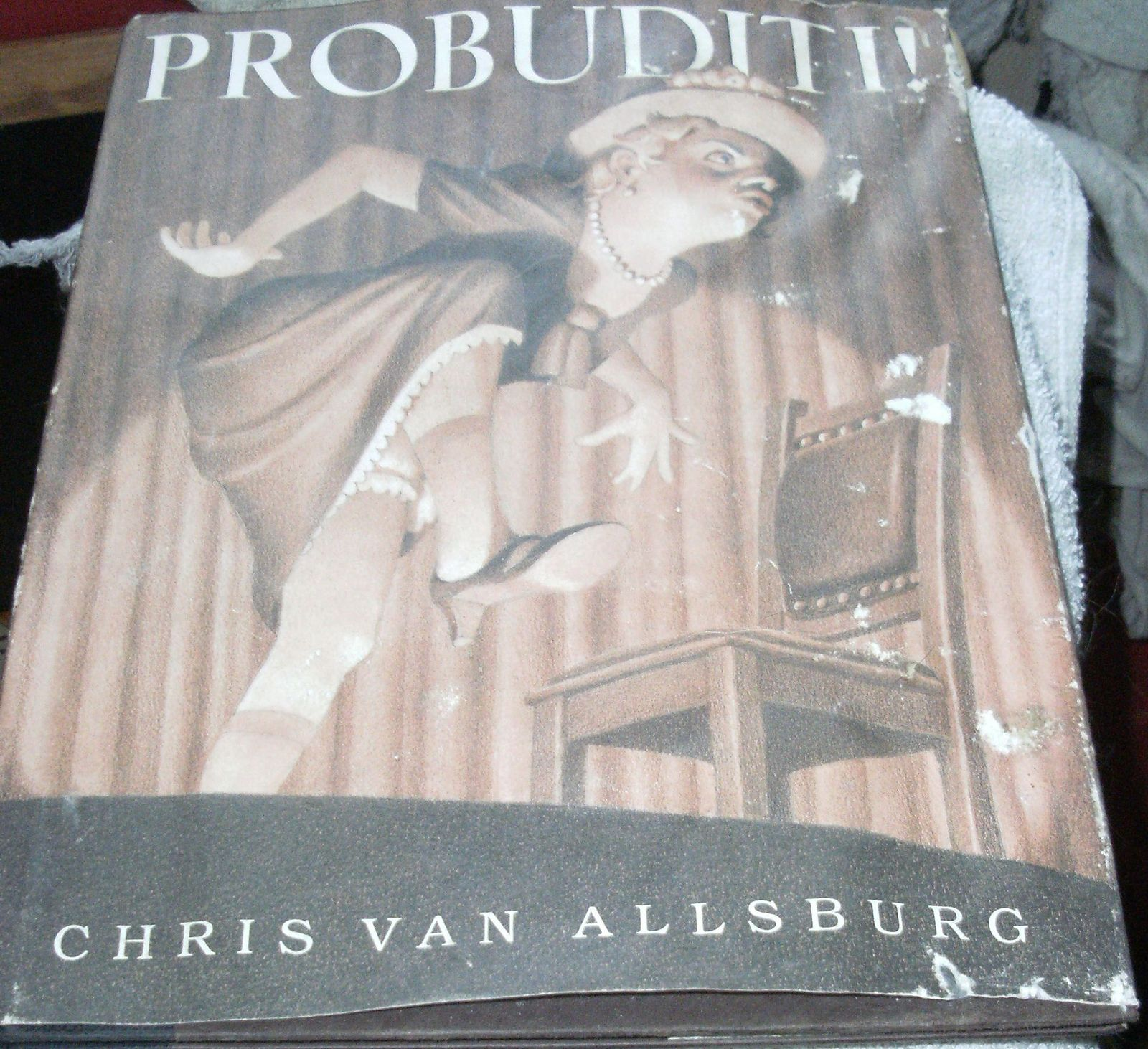 Primary image for  Probuditi! by Chris Van Allsburg - Funny Children Picture Book - Hypnotist