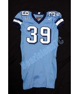 UNC Tarheel GAME USED WORN FOOTBALL JERSEY SIZE... - $49.00