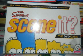 The Simpsons Scene It Dvd Board Game 2009   Sealed - $22.00