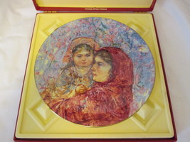 Hibel Lucia & Child Plate Royal Doulton 1977 - $16.99