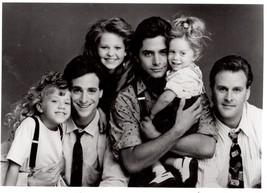 Full House John Stamos Olson Sisters 1 Vintage 8X10 BW TV Memorabilia Photo - $6.99
