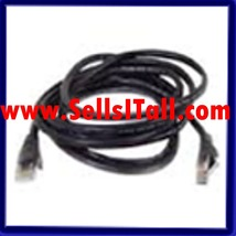 Brand NEW Belkin V7-C5E-05-blk 5 ft. Cat 5E Black Color Patch Cable - $8.95