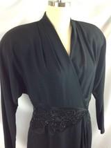 Daymor Couture C Mercedes Ferreira Retro 1940s Dress Hollywood Glam NYE ... - $148.01