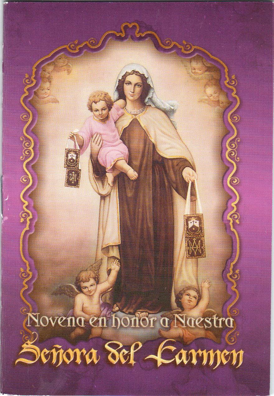 Novena en honor a naestra senora del carmen s210